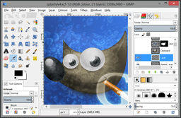 GIMP 2.8 for Windows screenshot