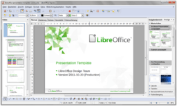 LibreOffice 3.5 Impress WithContent